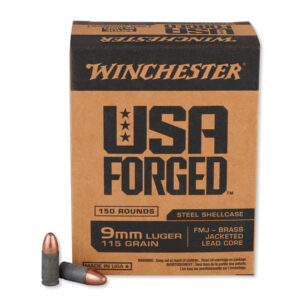 Winchester USA Forged 9mm luger ammunition