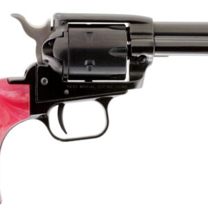 Heritage Rough Rider Bird Head 22LR / 22 Mag Revolver with Pink Pearl Grips