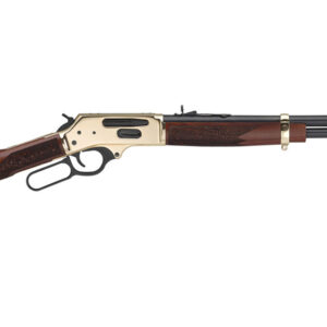 Henry .45-70 Side Gate Lever Action Rifle with Walnut Stock