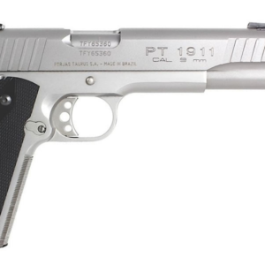 Taurus PT1911 9mm Stainless Steel Centerfire Pistol (Cosmetic Blemishes)