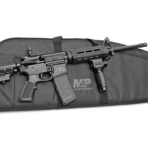 Smith & Wesson M&P15 Sport II 5.56mm Rifle with Gun Case and Vertical Foregrip with Light