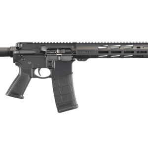 What's in the Box Ruger AR-556 5.56mm Semi-Auto Rifle (1) Magazine Cable Lock Owner's Manual